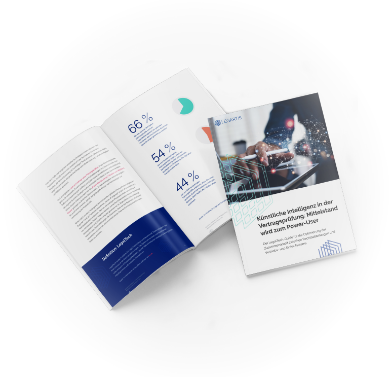 Legartis White Paper - AI in Contract Review DE mockup